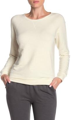 Jason Scott Wide Crew Neck Pullover Sweatshirt