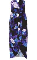 City Chic Hydrangea Maxi Dress