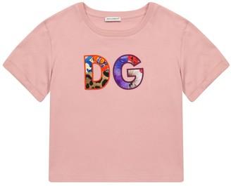 Dolce & Gabbana Kids Logo cotton T-shirt