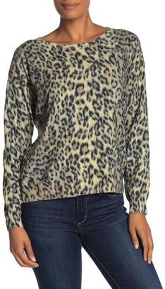 Joie Eloisa Leopard Print Sweater