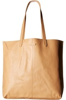 Toms Vacchetta Matte Leather Tote