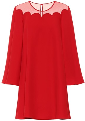 Valentino Silk-crepe dress