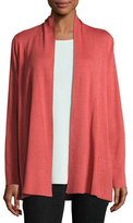 Eileen Fisher Tencel® Blend Cardigan with Pockets, Red