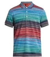Missoni Short-sleeved Striped Polo Shirt