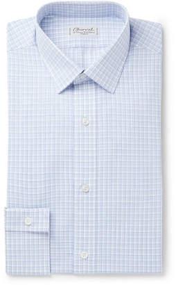 Charvet Light-Blue Checked Cotton Shirt