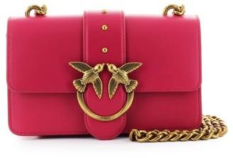 Pinko Love Mini Icon Simply 4 C Magenta Crossbody Bag