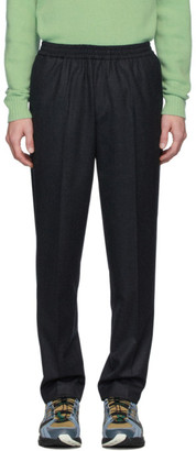 Harmony Grey Flannel Paolo Trousers