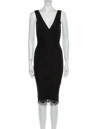 Victoria Beckham Wool Midi Length Dress w/ Tags Wool