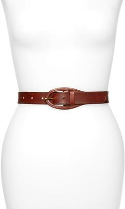 Treasure & Bond Leather Buckle Belt