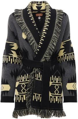 Alanui Regenerated Cashmere & Wool Cardigan