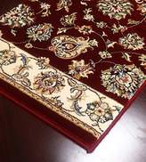 carpetcrafts Shadows SHA07 Burgundy Runner - Finished Runner