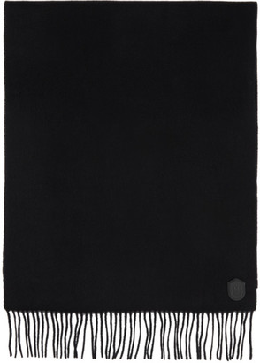 Mackage Black Wool Luki Scarf