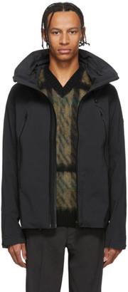 Descente Black Hard Shell Creas Jacket