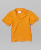 Flap Happy Orange Polo - Infant Toddler & Boys