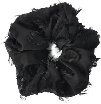Kitsch XL Volume Scrunchie Frayed Black