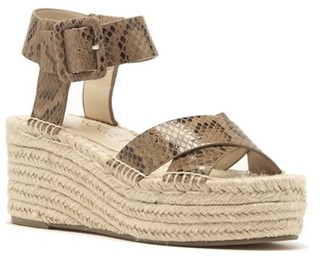 Sole Society Audrina Espadrille Wedge Sandal