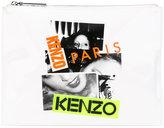 Kenzo printed clutch