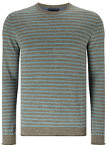 John Lewis Budding Stripe Cotton Jumper