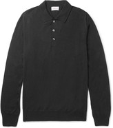 Brioni - Wool, Silk And Cashmere-blend Polo Shirt