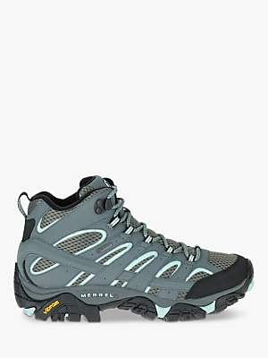 Merrell MOAB 2 Mid Women's Waterproof Gore-Tex Hiking Boots, Sage