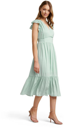 Forever New Estelle Petite Tiered Midi Dress