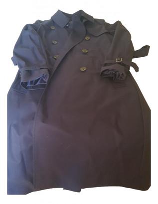 Comptoir des Cotonniers Blue Cotton Coats