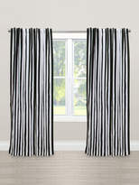 Skyline Furniture Canopy Stripe Blackout Cotton Curtain