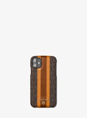 MICHAEL Michael Kors Logo Stripe Phone Cover for iPhone 11