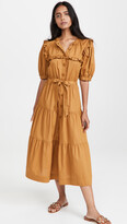 Thumbnail for your product : Sea Renee Cotton Tiered Dress