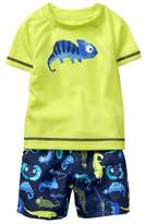 Gymboree Lizard Rashguard Set