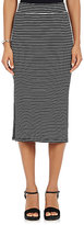 ATM Anthony Thomas Melillo Women's Rib-Knit Skirt-BLACK, WHITE