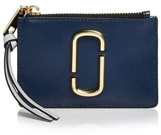 Marc Jacobs Top Zip Leather Multi Card Case