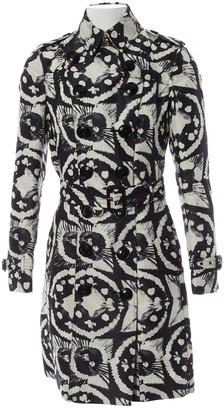 Burberry Black Silk Trench coats