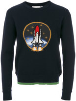 Coach rocket patch jumper - men - Polyester/Wool - S