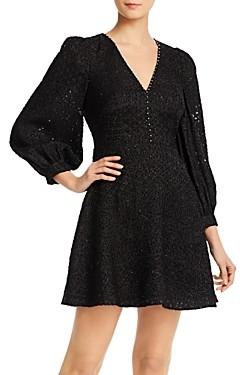 Joie Breena Tonal Embroidered Dress