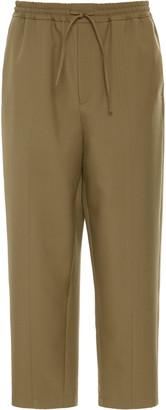 Jil Sander Alem Wool-Blend Straight-Leg Pants