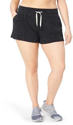 "Core 10 Amazon Brand Women's Plus Size Lightweight Cool Down Short - 3"""