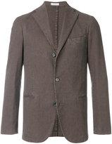 Boglioli houndstooth pattern blazer - men - Cotton/Spandex/Elastane/Cupro - 48
