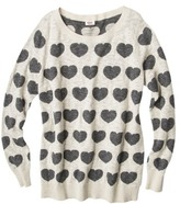 Mossimo Women's Plus-Size Long-Sleeve Sweater - Assorted Prints