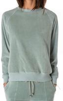 Rag Doll Women's Ragdoll Velour Sweatshirt