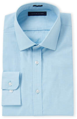 Tommy Hilfiger Aqua Slim Fit Dress Shirt