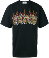 MSGM embroidered T-shirt - men - Cotton - S