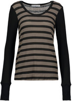 Kain Label Frawley striped stretch-knit sweater
