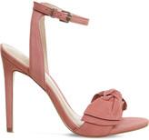 Office Harmony Bow Trim nubuck sandals