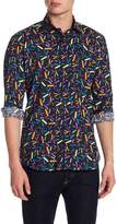 Jared Lang Pattern Woven Shirt