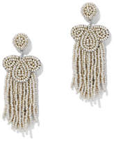 New York & Co. Seed Bead Statement Drop Earring
