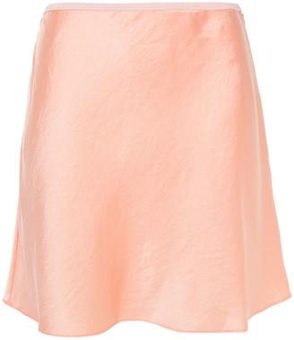 alexanderwang.t Crinkled-satin Mini Skirt