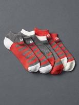 Gap Logo athletic ankle socks (3-pack)