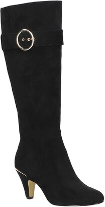 Bella Vita Braxton Buckle Knee High Boot