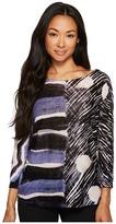 Nic+Zoe Sierra Top Tissue Tee Women's Clothing